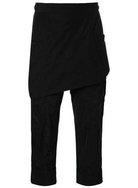 THAMANYAH THAMANYAH MEN RAZOR CROTCH THREE QUARTER PANTS
