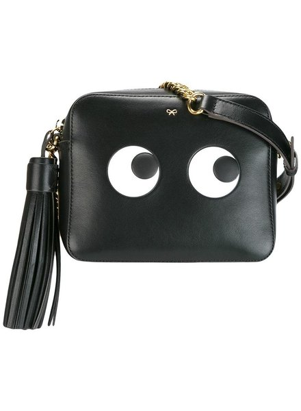 ANYA HINDMARCH ANYA HINDMARCH WOMEN CROSSBODY BAG EYES RIGHT IN BLACK CIRCUS