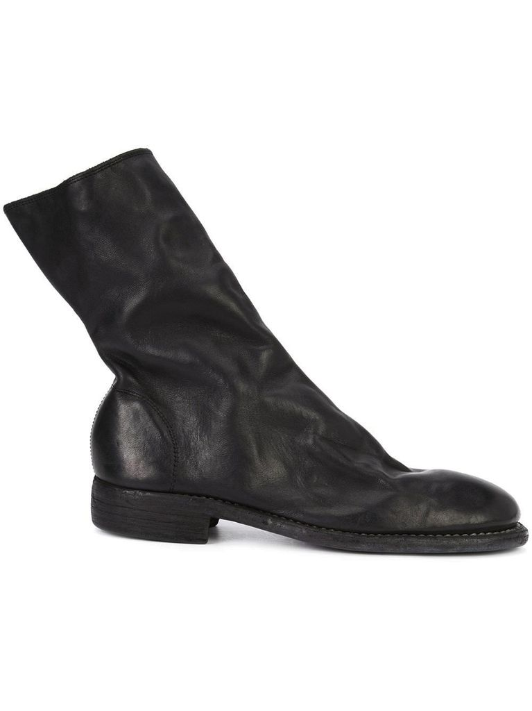 GUIDI GUIDI HORSE LEATHER SIDE ZIP BOOT
