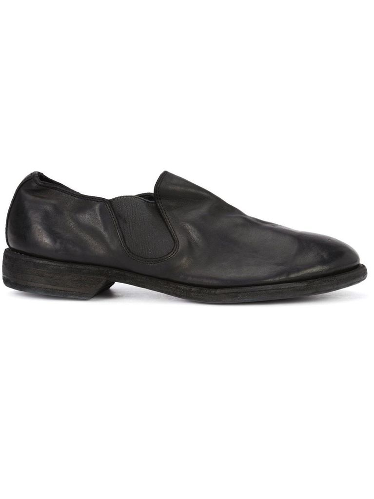 GUIDI GUIDI SOFT HORSE LEATHER SLIP ON