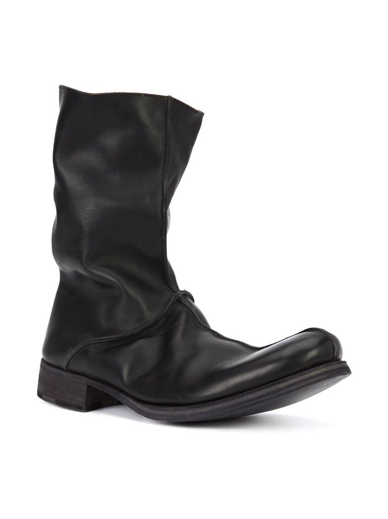 MA+ MA+ MEN CENTRAL STITCHED TWO PIECE TALL BOOT