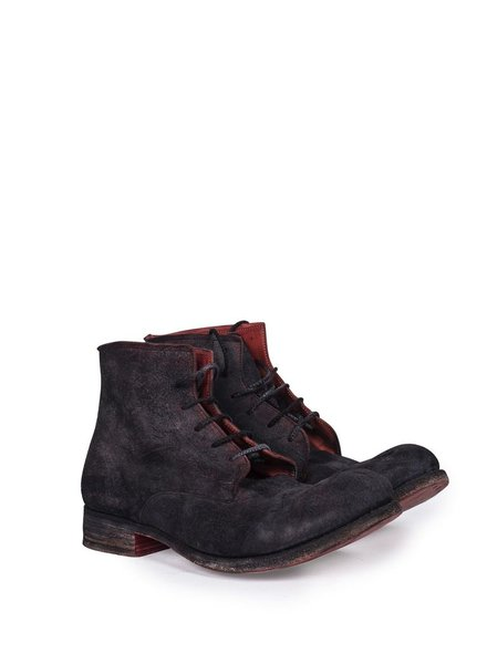 A DICIANNOVEVENTITRE A1923 HORSE REVERSE LEATHER ANKLE BOOTS