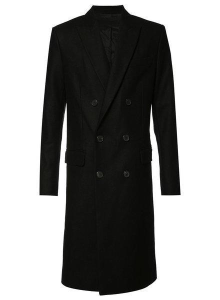 AMI ALEXANDRE MATTIUSSI AMI MEN CLASSIC DOUBLE BREASTED BLAZER JACKET