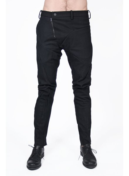 LEON EMANUEL BLANCK LEON EMANUEL BLANCK DISTORTION FITTED LONG PANTS