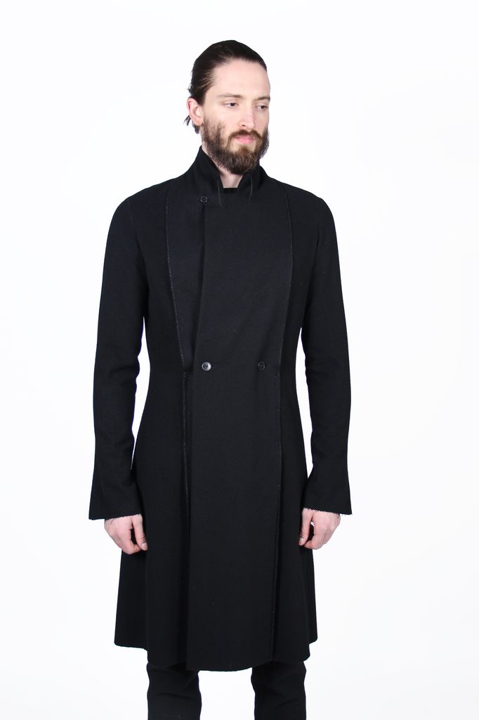 MA+ MA+ MEN DOUBLE FOLD LONG COAT