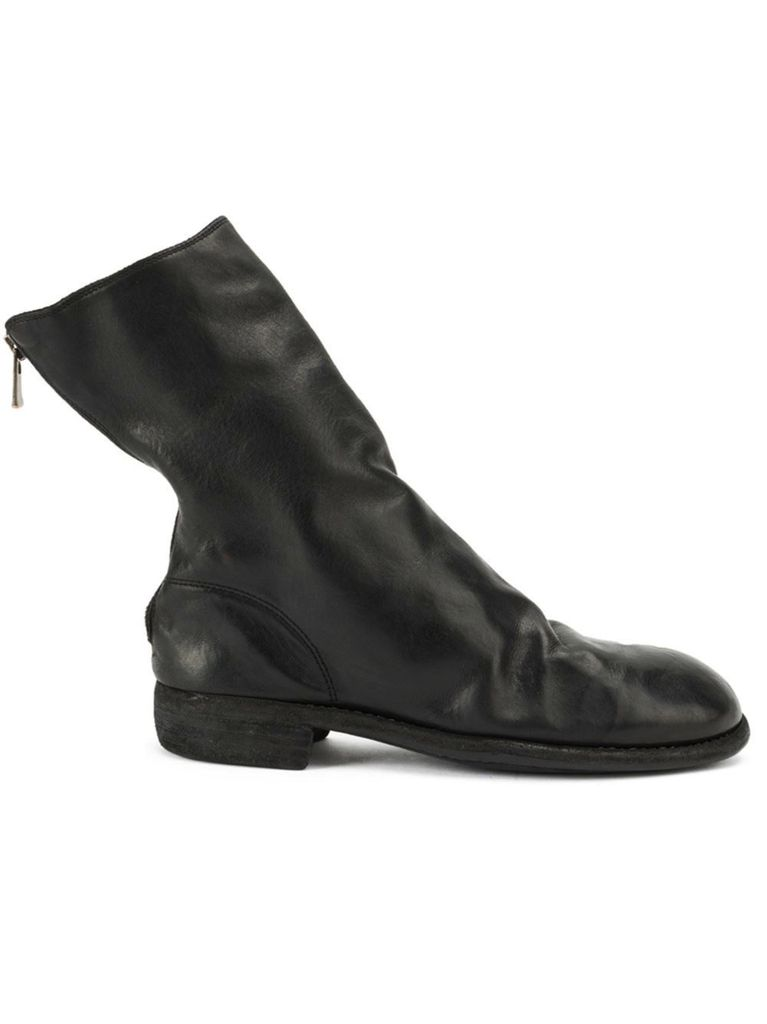 GUIDI GUIDI CLASSIC BACK ZIP HORSE LEATHER BOOT