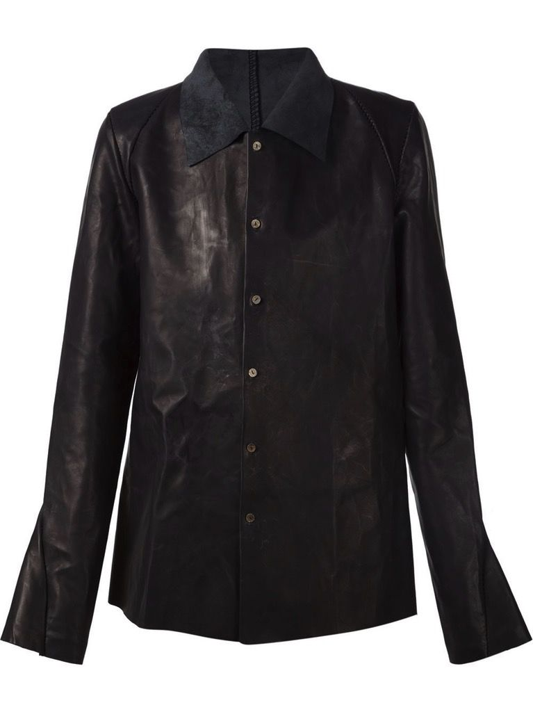 A DICIANNOVEVENTITRE A1923 MEN LEATHER SHIRT