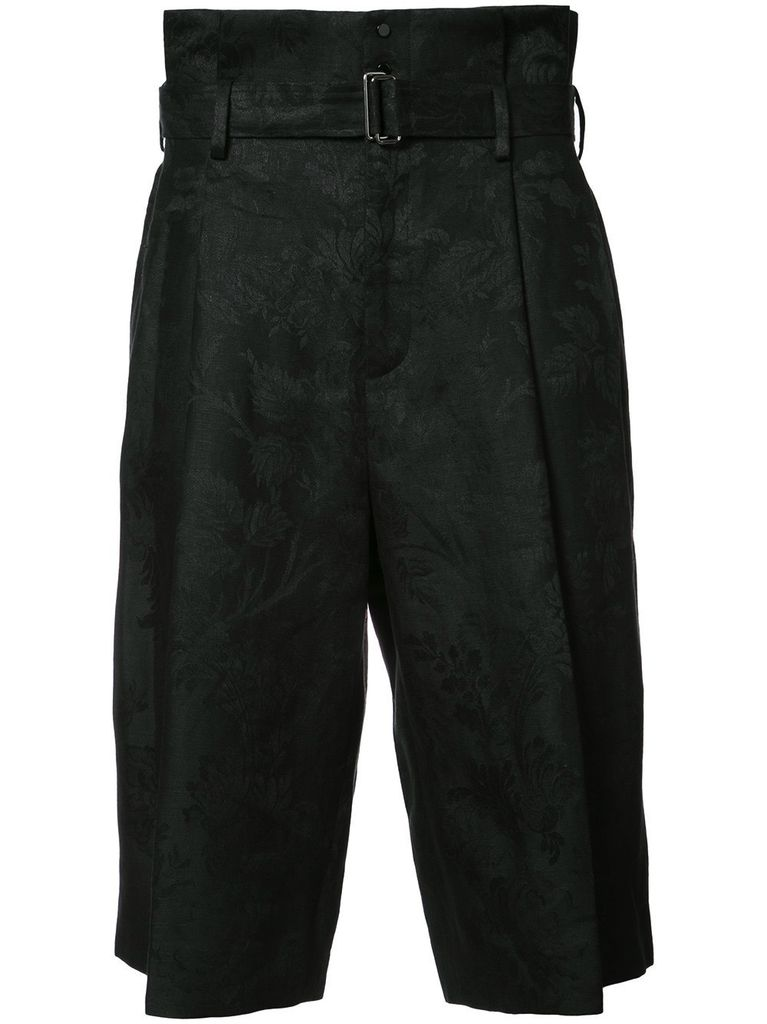 AGANOVICH AGANOVICH MEN BELTED PANTS