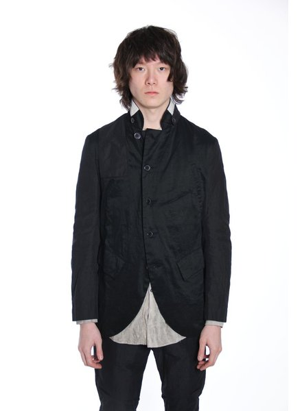 ZIGGY CHEN ZIGGY CHEN MEN 5 BUTTON MILITARY JACKET