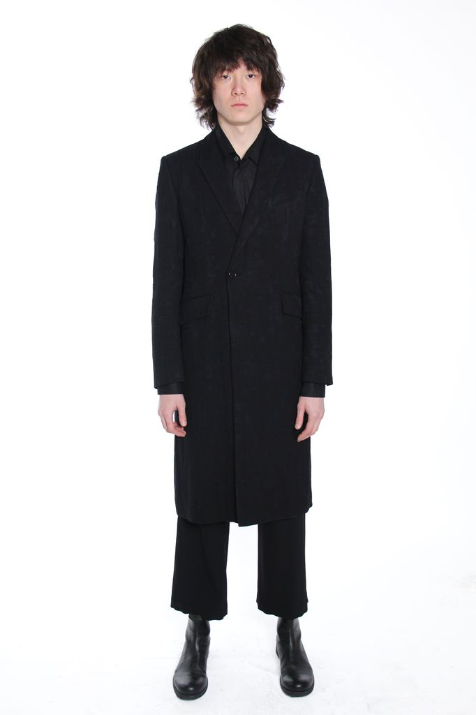 ANN DEMEULEMEESTER ANN DEMEULEMEESTER MEN DOUBLE BREASTED COAT