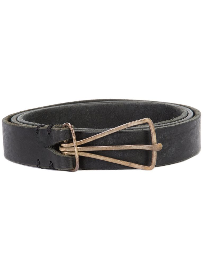 MA+ MA+ M BUCKLE BROAD BELT
