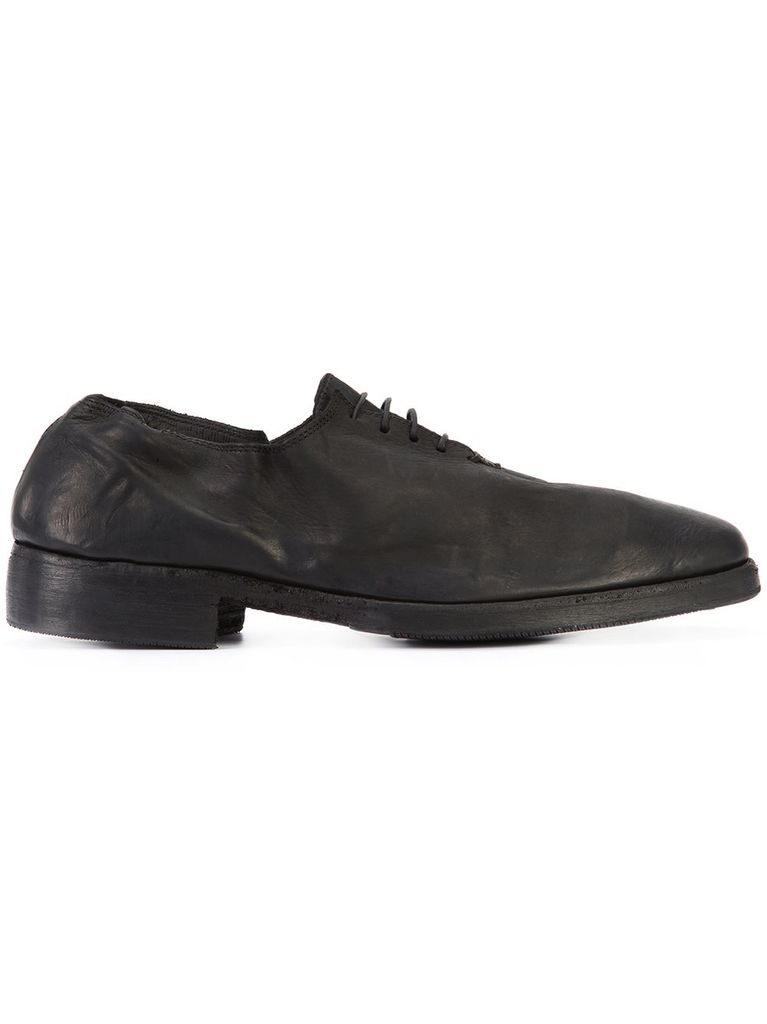 GUIDI OX02C GUIDI WOMEN POINTY DERBY SHOES