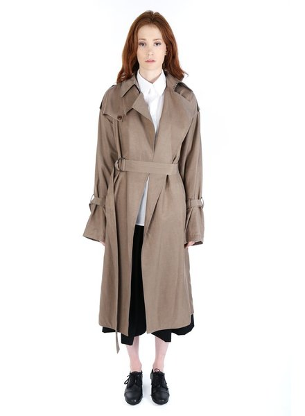 Y'S Y'S WOMEN TRENCH COAT
