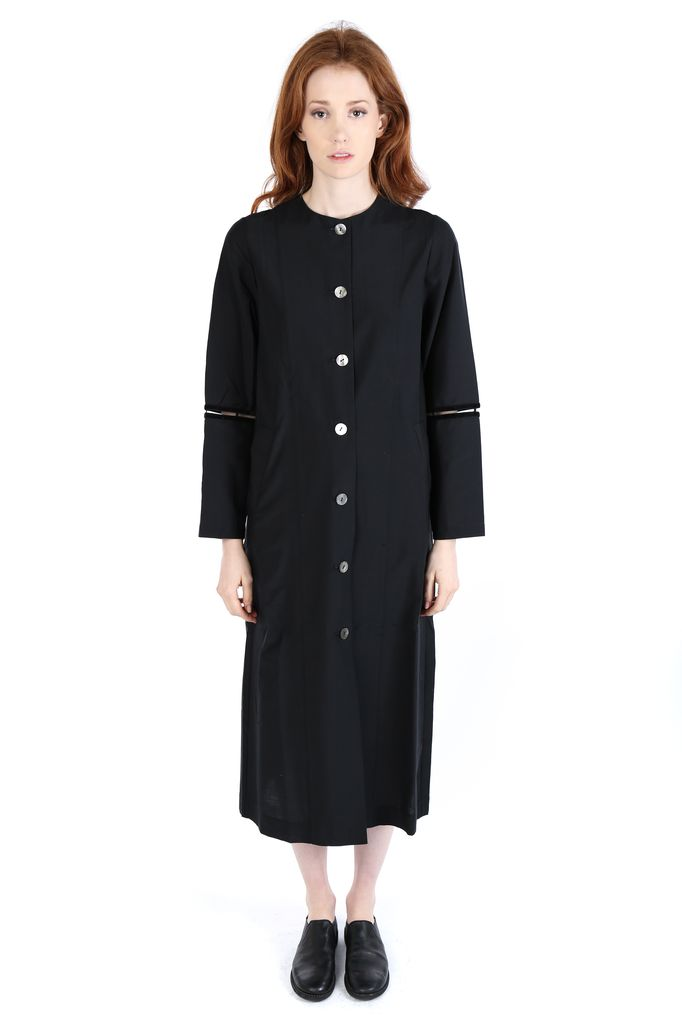 RENLI SU RENLI SU WOMEN ANKLE LENGTH LIGHTWEIGHT COAT