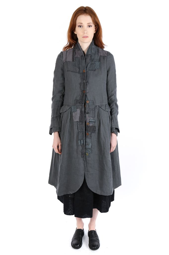 SARK STUDIO SARK STUDIO WOMEN HUNTING COAT APPLIQUE