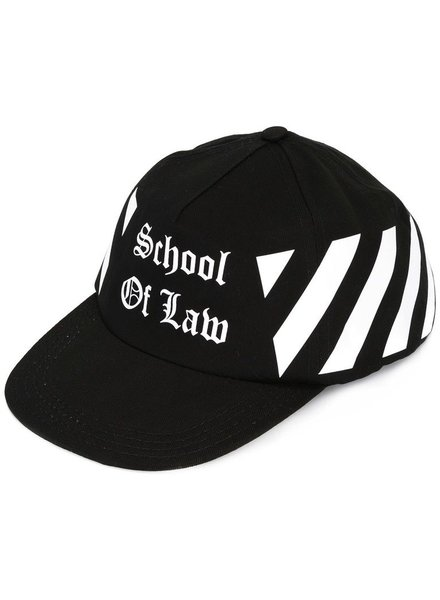 OFF-WHITE OFF WHITE SCHOOL OF LAW CAP