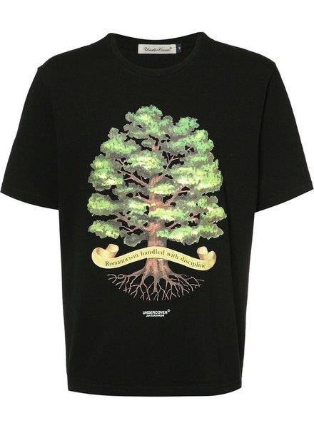 UNDERCOVER UNDERCOVER MEN TREE SLOGAN T-SHIRT