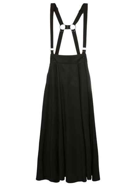 Y'S Y'S WOMEN LONG SKIRT WITH SUSPENDER