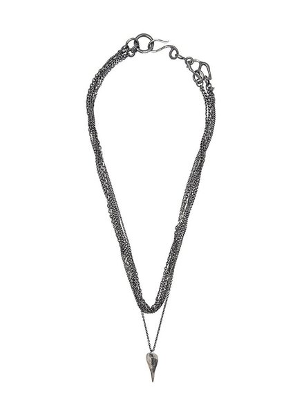 CHIN TEO CHIN TEO MULTI CHAINS WITHOUT GOLD KNOTS, NECKLACE/BRACELET
