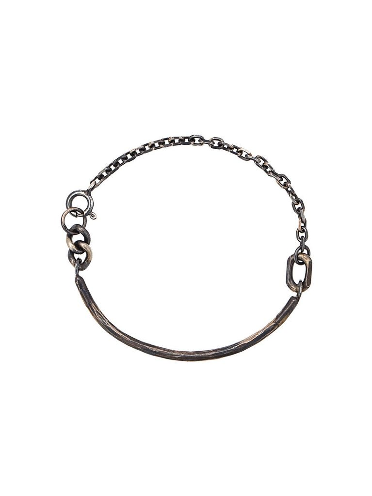 CHIN TEO CHIN TEO 110 CHAIN FORGED BRACELET