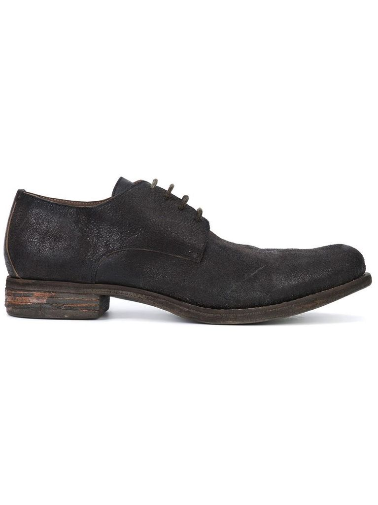 A DICIANNOVEVENTITRE A1923 MEN HORSE LEATHER POINTY TOE DERBY