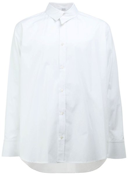 AGANOVICH AGANOVICH MEN UNBALANCED COLLAR SHIRT