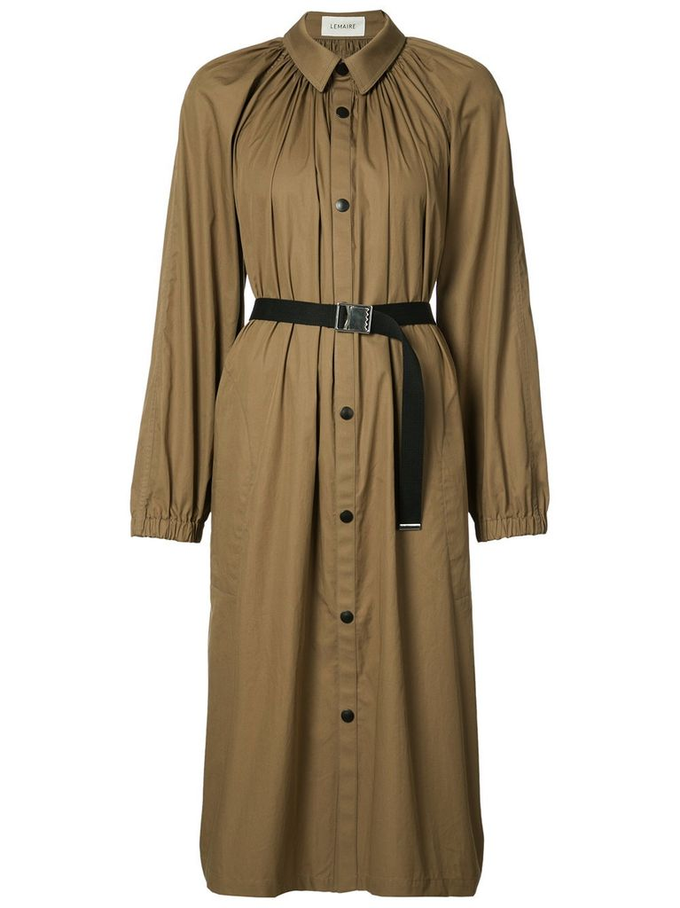 LEMAIRE LEMAIRE WOMEN PLEATED COAT