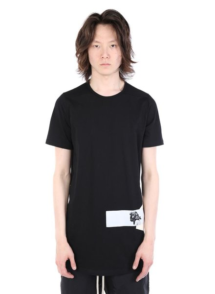 RICK OWENS DRKSHDW DRKSHDW MEN LEVEL TEE WITH PATCH