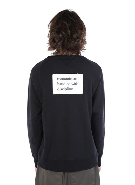 UNDERCOVER UNDERCOVER MEN SLOGAN PATCH SWEATSHIRT