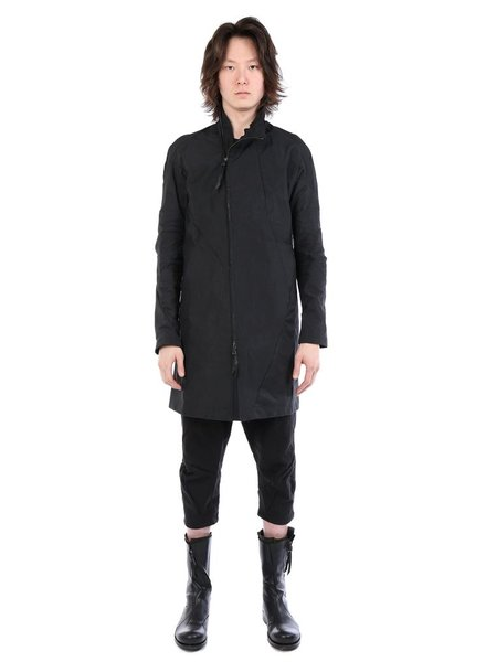 LEON EMANUEL BLANCK LEON EMANUEL BLANCK MEN DISTORTION SHORT TRENCH COAT