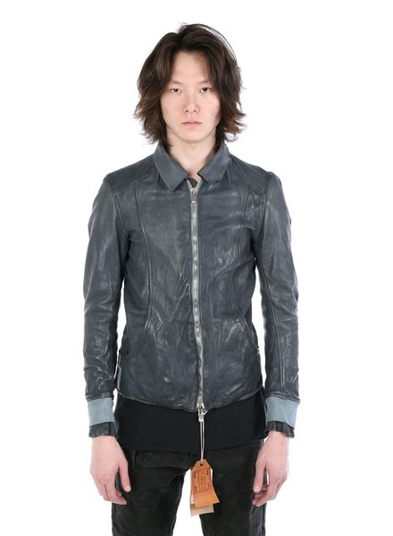 GUIDI GUIDI X LAYER-0 MEN AVIATOR LEATHER JACKET