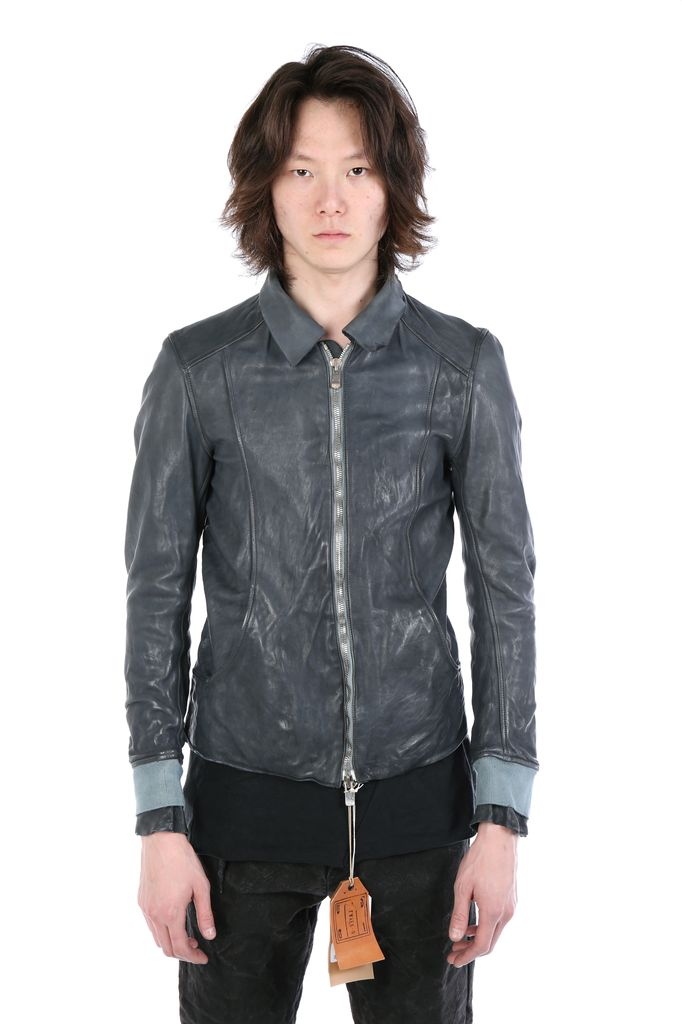 GUIDI GUIDI X LAYER-0 MEN AVIATOR AVM LEATHER JACKET