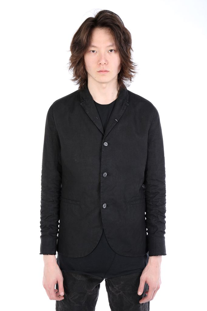 LAYER-0 LAYER-0 3 BUTTON BLAZER