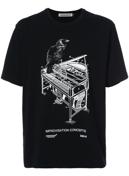 UNDERCOVER UNDERCOVER MOTIF PRINTED T-SHIRT