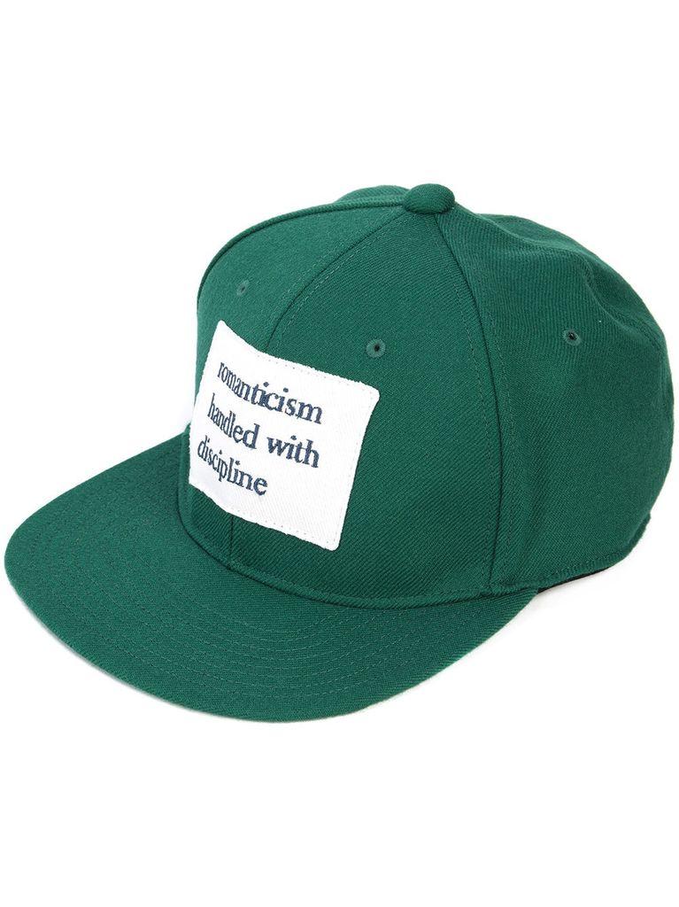 UNDERCOVER UNDERCOVER MEN SLOGAN PATCH CAP