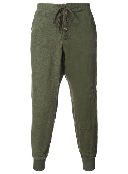 GREG LAUREN GREG LAUREN MEN ARMY ANTIQUE HEMP LOUNGE PANT