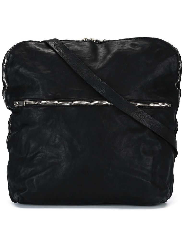 GUIDI GUIDI FOLD DOWN MESSENGER BAG