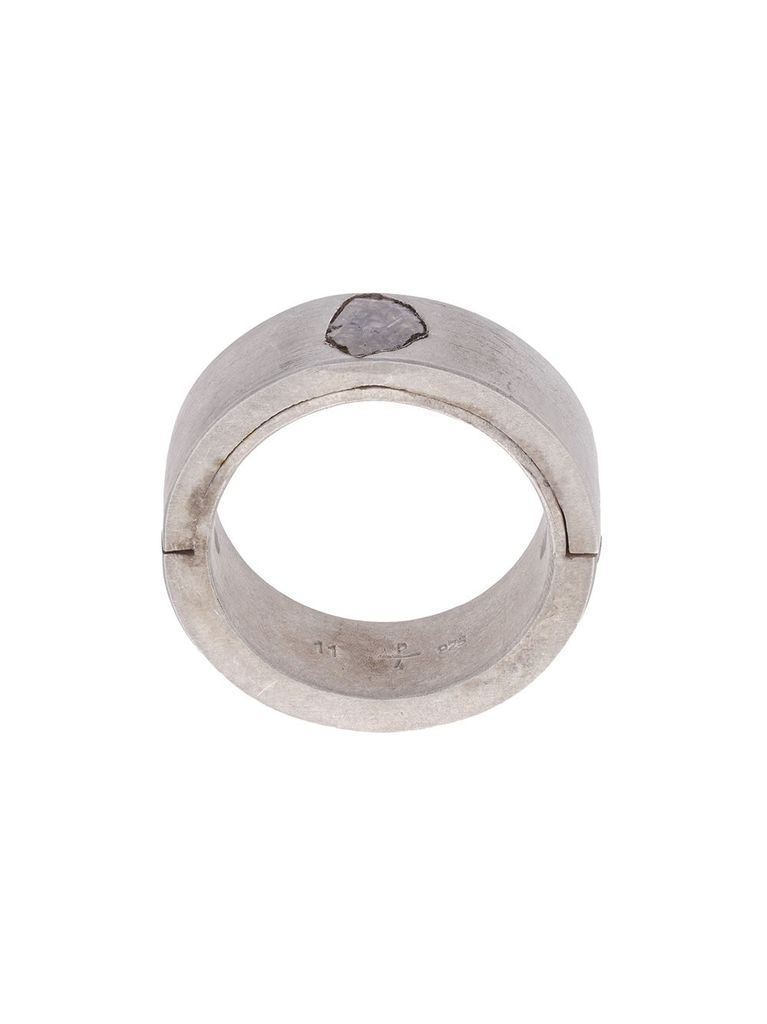 PARTS OF FOUR PARTS OF FOUR MEN SISTEMA RING W/ DIAMOND (0.5-0.8 CT)
