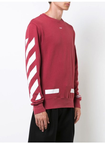 OFF-WHITE OFF WHITE MEN DIAG ARROWS CREWNECK