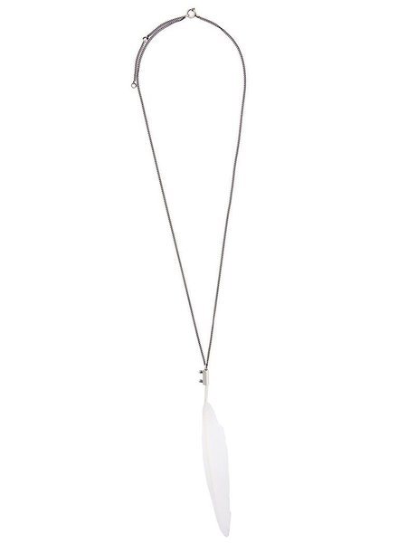ANN DEMEULEMEESTER ANN DEMEULEMEESTER FEATHER NECKLACE