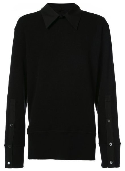 ANN DEMEULEMEESTER ANN DEMEULEMEESTER MEN COLLARED SWEATER
