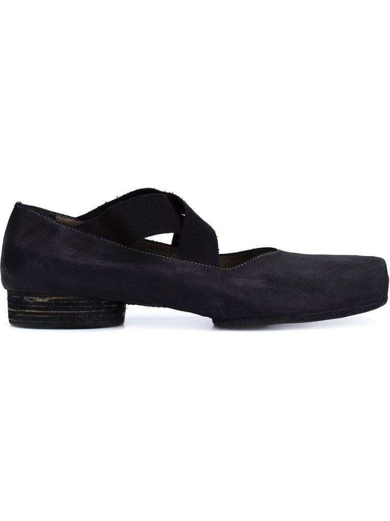 UMA WANG UMA WANG WOMEN BLACK BALLET SHOES