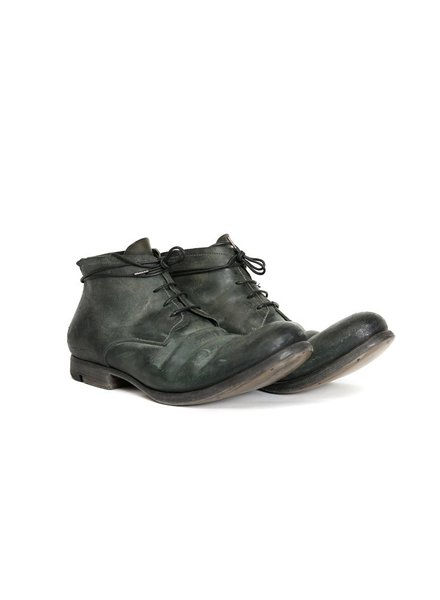 LAYER-0 LAYER-0 MEN REVERSE CORDOVAN LEATHER ANKLE BOOT