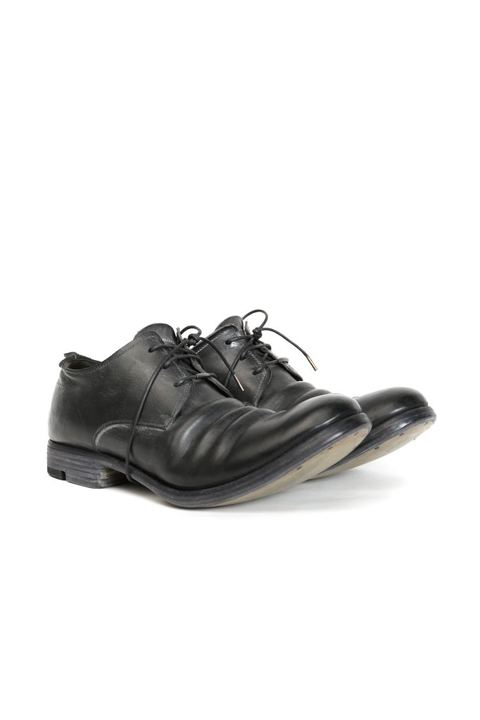 LAYER-0 LAYER-0 MEN CORDOVAN LEATHER DERBY