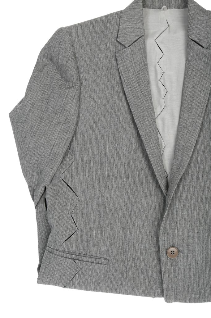 DEEPTI DEEPTI CRASH SEAM SHORT JACKET