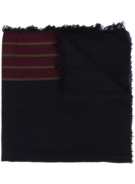 UMA WANG UMA WANG STRIPED SCARF