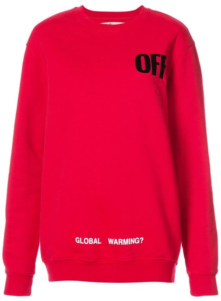 OFF-WHITE OFF-WHITE WOMEN BIG OVERSIZE SWEATER
