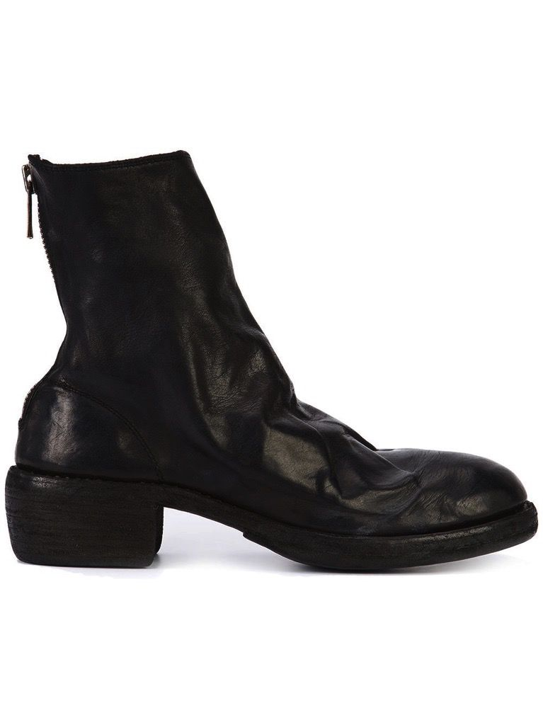 GUIDI Back zip boots 13WGGZG3C