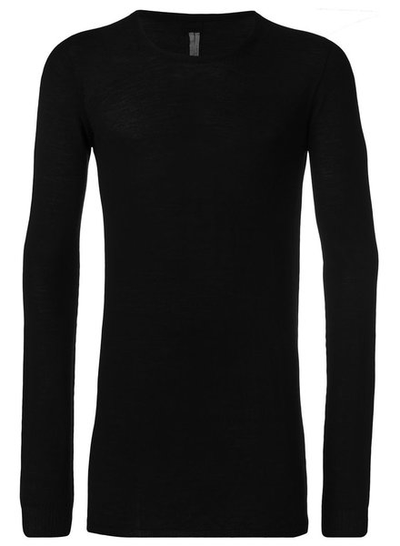 RICK OWENS RICK OWENS MEN ROUND NECK SWEATER