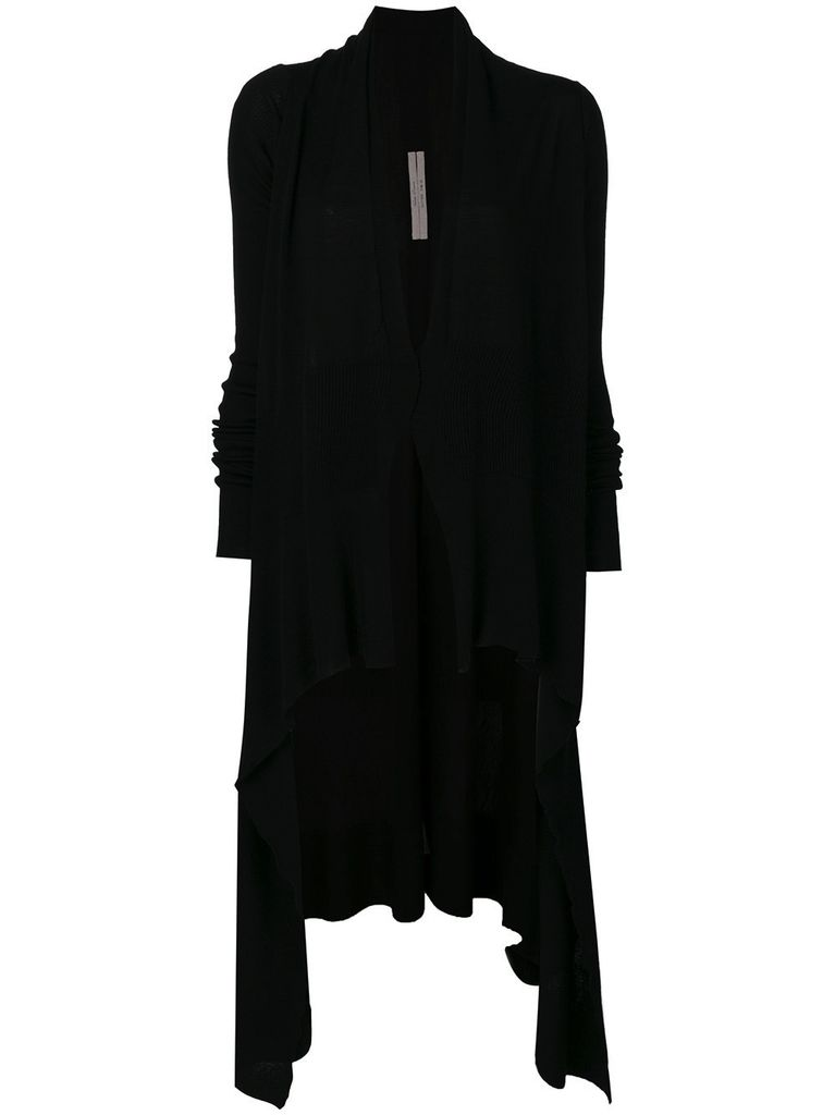 RICK OWENS RICK OWENS WOMEN LONG WRAP CARDIGAN